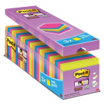 Post-it Super Sticky viestilaput 76 x 76mm värilajitelma