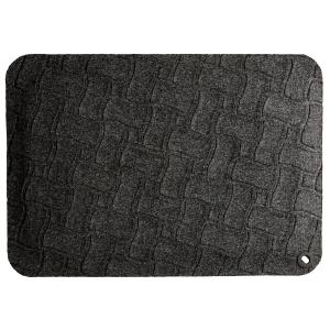 Ergonominen matto 550x780x16mm musta
