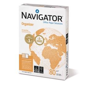 Navigator Organizer kopiopaperi A4 80g, 8cm rei'itys