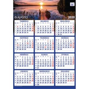 Ajasto Maxi seinäkalenteri 2020