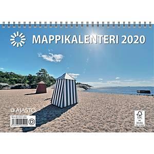 Ajasto Mappikalenteri seinäkalenteri 2020