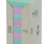 Post-it viestilapputorni eko 76x76mm värilajitelma