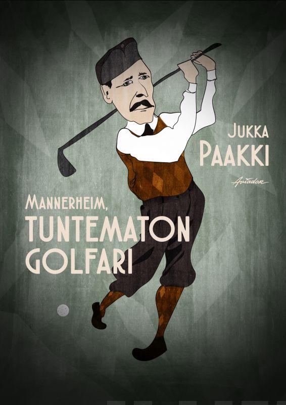Mannerheim, Tuntematon golfari